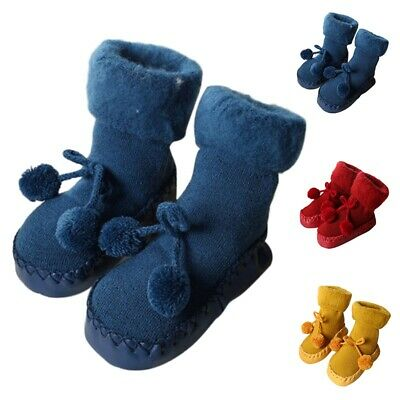 Baby Floor Socks Cute Infant Kids Anti-slip Shoes Socks Thick Warm Toddler Socks