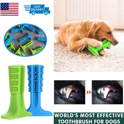 Dog Toothbrush Pet Brushing Stick Teeth Cleaning Chew Toy For Dogs Pet Oralcare.