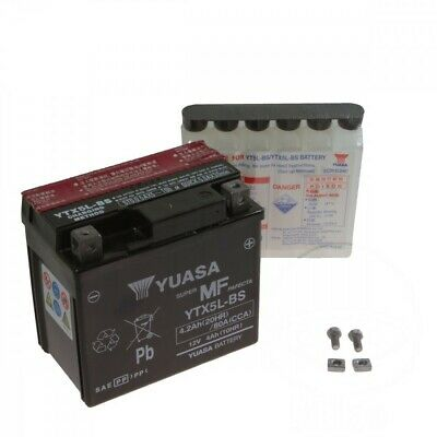 YUASA Batterie YTX5L-BS 12V Kymco Yager/Spacer 50 2T, Bj. 1998-2008