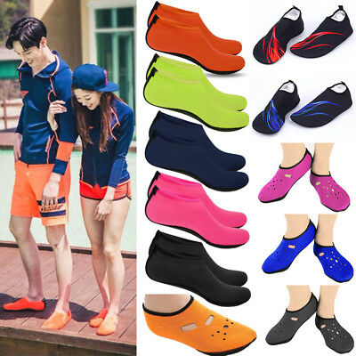 Aqua Socks Unisex Adult Kids Beach Surf Wet Water Shoes Swimming Diving Non-slip