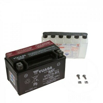 YUASA Batterie YTX7A-BS 12V Kymco People 125 S DT, Bj. 2005-2010