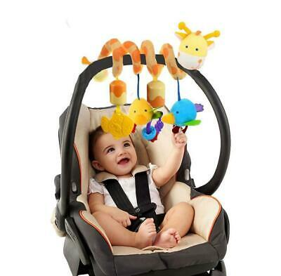 Baby Activity Spiral Hanging Toy for Pushchair Pram Stroller Car Seat Cot Bed