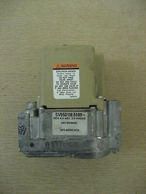 Bradford White Honeywell SV9501M5109 222-40762-01A Water Heater Smart Gas Valve