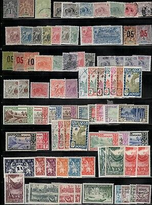 French Colonies(Guyana),MH&used,Small Collection