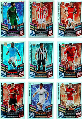 Topps Match Attax 2012/13 Limited Edition & 100 Club Cards - Brand New