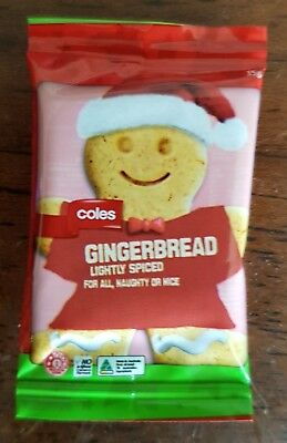 Coles Little Shop Christmas Limited Edition Minis GINGERBREAD