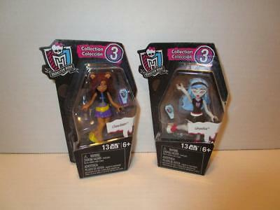 NRFB Monster High Ghouls Skullection SERIES 3 TWO Mini Figure Set