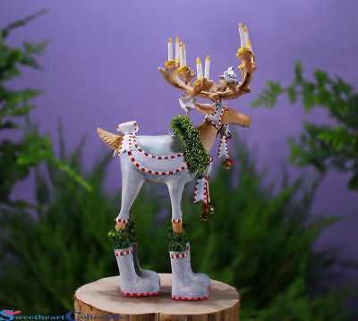 Patience Brewster Reindeer Dasher Medium Ornament 6.25 Inches NEW IN The BOX