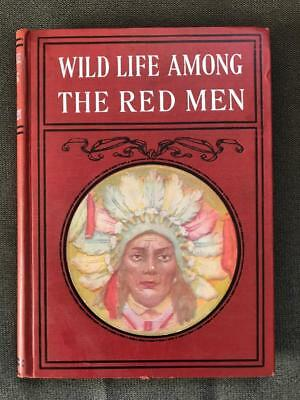 Rare Antique 1902 Wild Red Men American Indian Pictorial History Photo Portraits