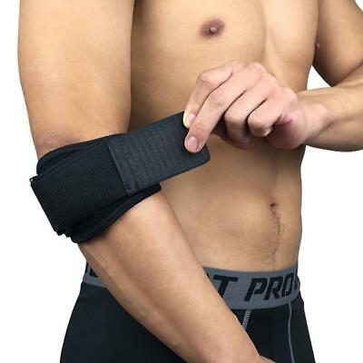 Adjustable Elbow Brace Tennis Golf Sports Forearm Compression Support Band Wrap