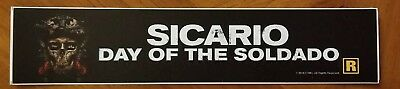 SICARIO DAY OF THE SOLDADO (2018) - Movie Theater Mylar Banner FREE SHIPPING