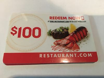 2x New $100 Gift Card Restaurants In USA NO Expiration American,Asian,Mexican