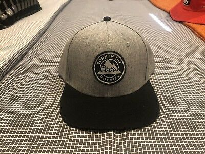 Brand New Coors ' Born In The Rockies ' Cap / Hat - Beer 🍻