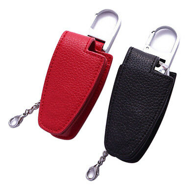 Fashion keybag Leather Car Remote Key Case Cover Key Chain For Mercedes-Benz