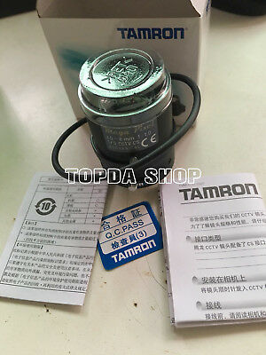 "1PC TAMRON M13VG308 New megapixel 3.0-8mm F1.0 1/3"" CS Auto iris lens#SS"