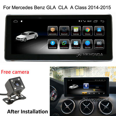 """10.25"""" Android 7.1 Car GPS Navigation For Mercedes Benz GLA CLA A Class 2014-15"""