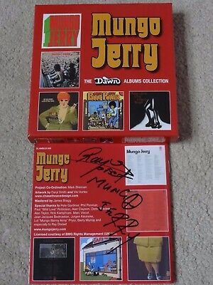 Mungo Jerry The Dawn Albums Collection 5 X Cd Box Set Signed Booklet Ray Dorset