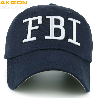 FBI Hat Women Official - FBI Hats for Men - FBI Agent Hat - FBI Baseball Cap