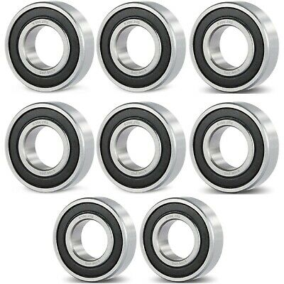 6306 2RS High Quality Ball Bearing - / 8 Pcs - Rubber Shields - 30 * 72 * 19 mm
