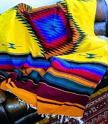 Molina Indian Blanket - XL - Hand Woven