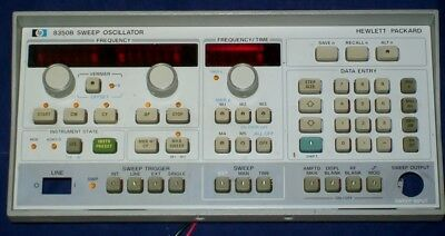 AGILENT HEWLETT PACKARD HP 8350B panel ONLY HP8350B sweep generator