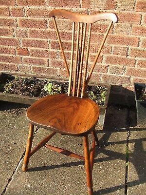 arts and crafts elm and beech chair