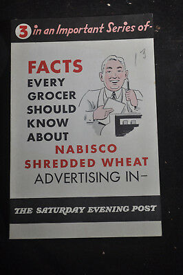 Facts Every Grocery Should Know About NABISCO Shredded Wheat Advertising
