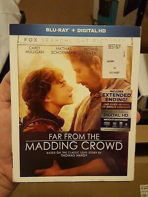 Far from the Madding Crowd [New Blu-ray] Digitally Mastered In Hd, Digital The
