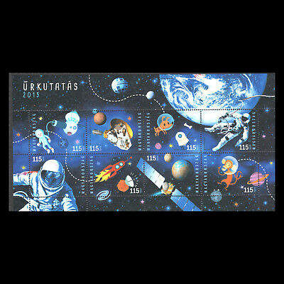 Hungary 2015 - Anniversaries and Events in Space Research - Sc 4370 MNH