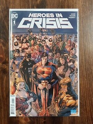 Heroes in Crisis #1 (2018) DC Comics 1st Print New
