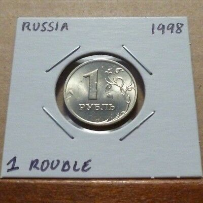 1 ROUBLE COIN - 1998 - Russia