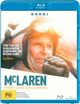 NEW McLaren Blu Ray Free Shipping