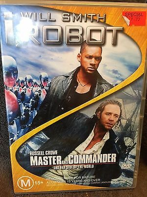 I, Robot  / Master And Commander -The Far Side Of The World *DVD*2-Disc *R4*VGC*