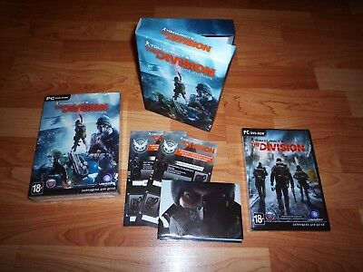 Tom Clancy's The Division Limited Box Edition (Rus edition) PC game