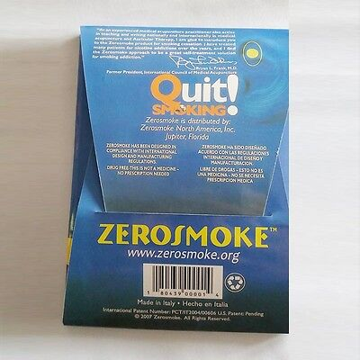 1PCS with box Zero Smoke Stop Quit Smoking Magnet Therapy Not Cigarettes Health