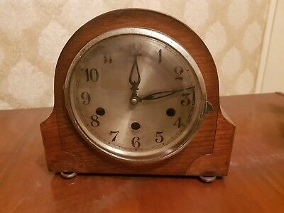Vintage Kienzle 8 Day Westminster Chime Mantle Clock. G.w.o