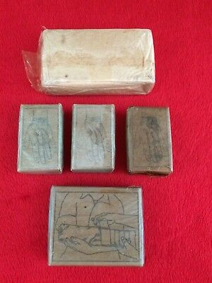 WW2 Dressing Bandage Lot For USMC Army First Aid Medic Bag Pouch