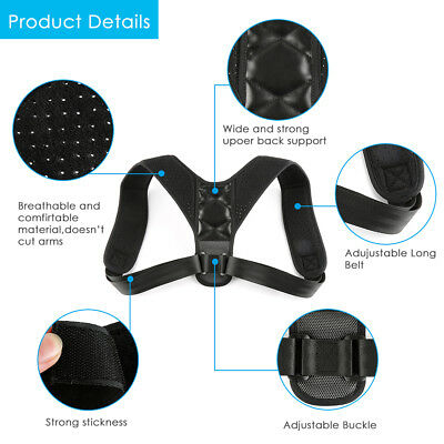 Body Wellness Posture Corrector (ADJUSTABLE TO ALL BODY SIZES) for Kid Men Women
