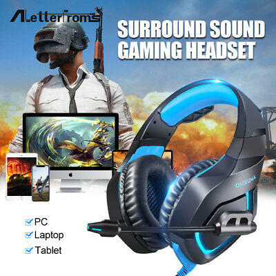 ONIKUMA K1-B Stereo Bass Surround Gaming Headset with Mic for PS4 Xbox One PC