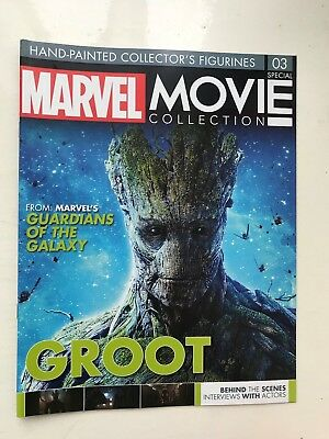 Marvel Movie Collection Special Issue 3 Groot Eaglemoss Figurine Magazine Only