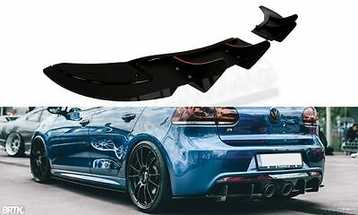 MAXTON DESIGN REAR DIFFUSER VW Golf MK6R 6 R  MK6R