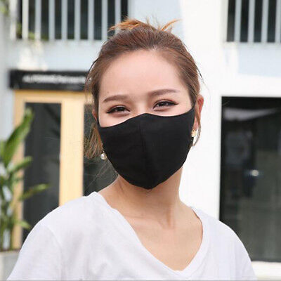 Washable Earloop Mask Cycling Anti Dust Face Mask Adjustable Surgical Respirator