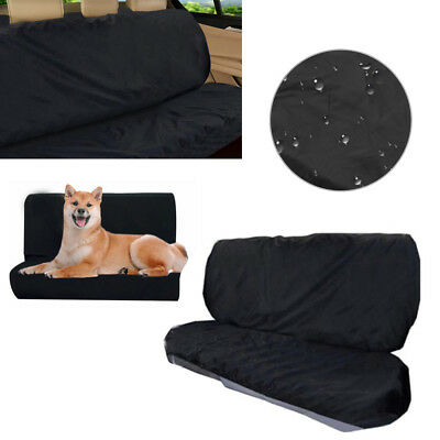 Universal Waterproof Car Rear Back Seat Cover Pet Heavy Duty Protector Easy Fit