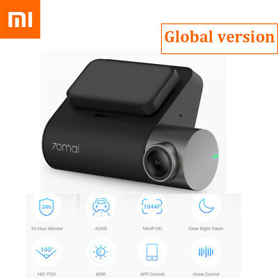 Xiaomi 70mai Dash Cam Pro 1944P 5MP WiFi Smart Car DVR Voice Control Monitor