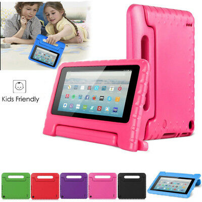 for Amazon kindle Fire HD 7 8 (2017) Kids Shockproof Eva Foam Stand Case Cover