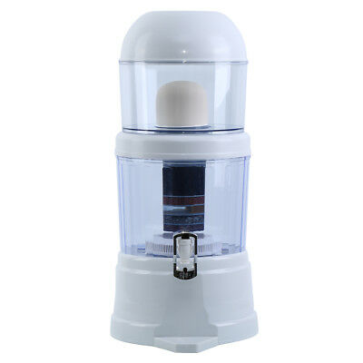 14L Water Filter Ceramic Carbon Mineral Bench Filtration Dispenser Purifier Top