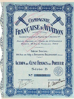 Compagnie Francaise D'aviation