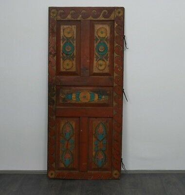 Antique Turkish Door Carved Vintage,Solid Wood Panel Architectural (66'')