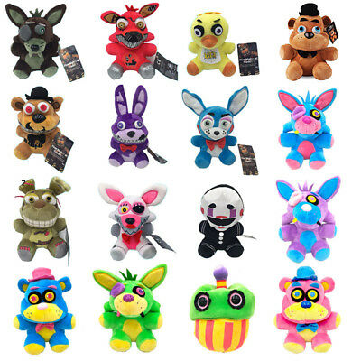 """7"""" FNAF Movie Five Nights At Freddy Plush Doll Horror Game Kids Toy Gift Plushie"""