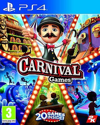 Carnival Games PS4 New and Sealed
